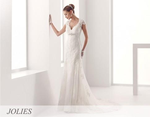 I ove godine Les Jolies nudi veliki izbor venčanica, počev od najmodernijih kreacija do klasičnih modela.