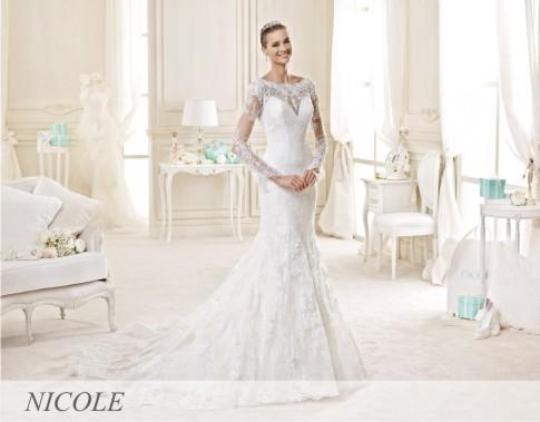 Kao i prethodnih godina i 2017. kolekcija Nicole odiše romantikom i šikom! Modeli su izradjeni od najfinije čipke, tila i organdina.