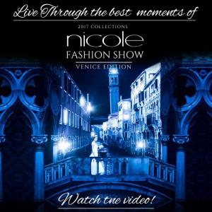 Proteklog vikenda u Veneciji je odrzan Nicole Fashion Show, predstavljeni su najnoviji modeli vencanica za 2017. godinu. Kao i svake godine,i ove jeseni , najlepse modele ovog prestiznog italijanskog brenda, moci cete da nadjete samo u salonu Sposa!